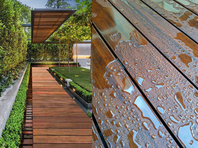 Bamboo Decking - Outdoor flooring