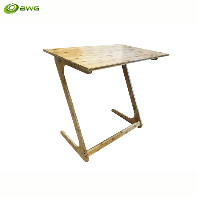 Z Shaped Modern Design Bamboo Table from Vietnam
