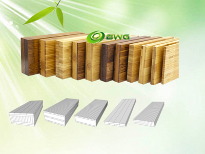 Bamboo Panels - Horizontal (plain), Sertical (side) and Strand Woven pressed Vietnam
