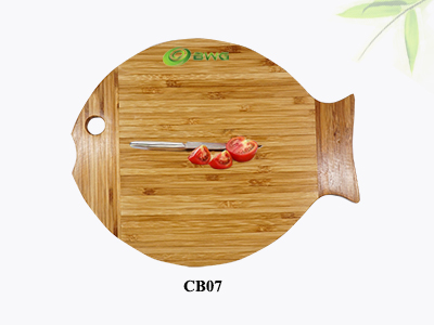 Fish Bamboo Cutting /Chopping Board Vietnam