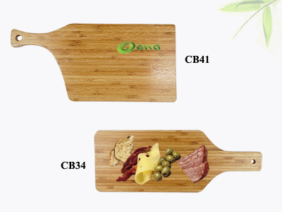 New Elegant Bamboo Serving Board with Handle Vietnam
