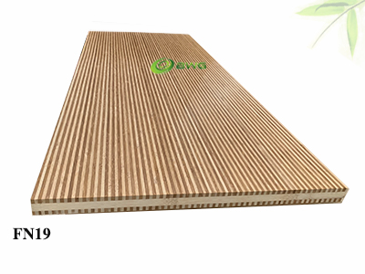 Kitchen Worktop Zebra Bamboo Panel from Vietnam