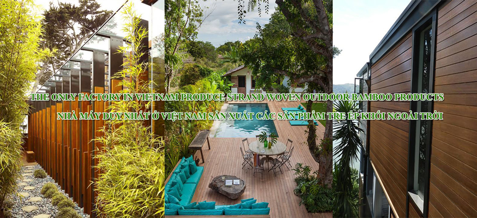 Bamboo Outdoor products